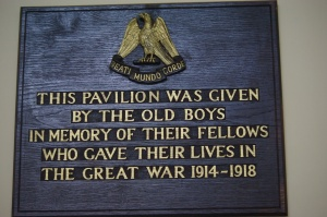 OJ plaque